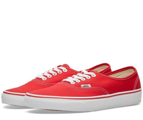 Scarpa sneakers VANS AUTHENTIC VN-0EE3 RED
