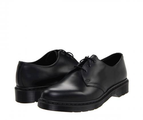 SCARPA DERBY DR.MARTENS 1461 MONO SMOOTH BLACK 14345001
