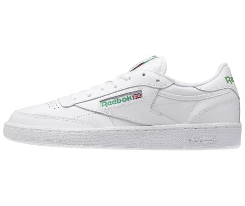 SCARPA REEBOK AR0456 CLUB C 85 WHITE/GREEN