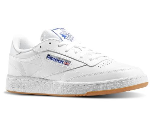 SCARPA REEBOK AR0459 CLUB C 85 WHITE/ROYAL/GUM