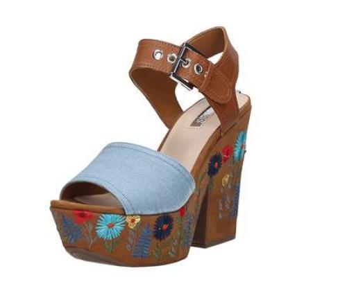 Sandalo Donna GUESS CARALIN FLCAA1DEN03 BLUE