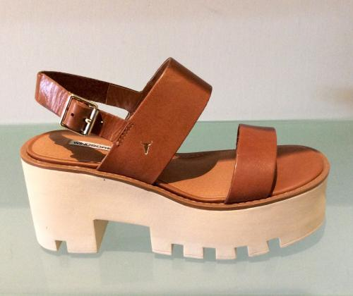 Sandalo donna WINDSOR SMITH BUFFY Tan Leather